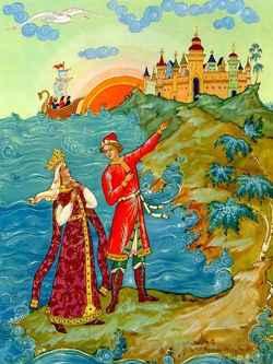Рисунки для сказки царь гвидон