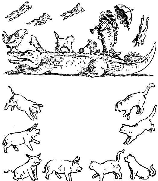 Раскраска путаница чуковского