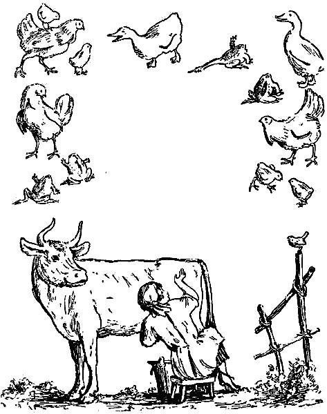 Раскраски Картинки Путаницы Чуковского