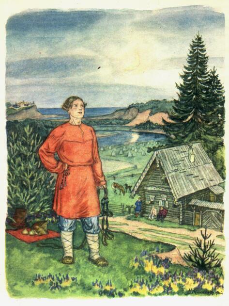 Владимир милашевский «конек-горбунок» |